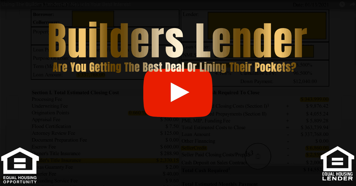 Should You Use The Builders Lender Video